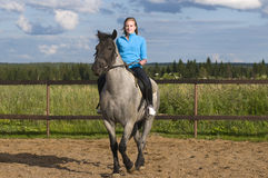 Horseback rider Stock Image