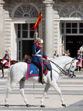 Horseback riders Armory Square Stock Photos