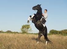 Horseback riding Royalty Free Stock Photo
