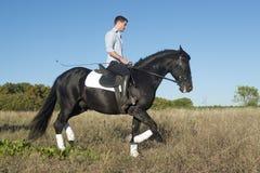 Horseback riding Stock Image