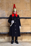 Horseguard av deppighetkungliga personer London England Arkivbilder