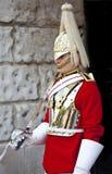 Horseguard at Horseguards Parade in London Royalty Free Stock Photo