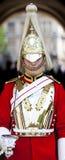 Horseguard na parada de Horseguards em Londres Foto de Stock