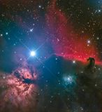 Horsehead Nebula royalty free illustration