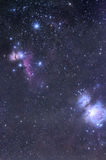 Horsehead And Orion Nebula Stock Images