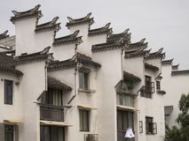 Horsehead walls. Jiangxi of the important characteristics of buildings, has been gloriously enrolled.In residential building density is larger, can under the stock images