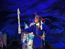 "Horsekeeper-北京Opera""杨Family†的妇女将军 库存图片"