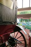 horseless vagn Arkivbild