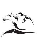Horseman Stock Image