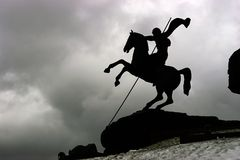 Horseman. Saint George Stock Images