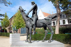 Horseman of the Apocalypse Stock Images