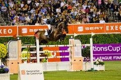 Horseman Eric Lamaze Royalty Free Stock Image