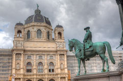 Horseman Museum fine arts, Vienna, Austria Royalty Free Stock Images