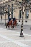 Horseman police Royalty Free Stock Photo
