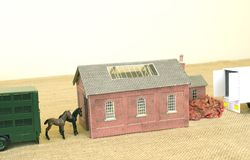 Horsemeat Factory Royalty Free Stock Photography