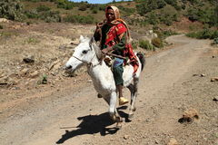 Horsemen from Ethiopia. A Horse man from Ethiopia Stock Photography