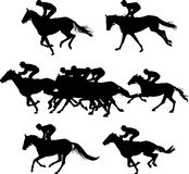 Horserace Стоковые Фотографии RF