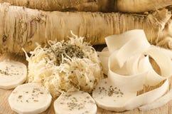 Horseradish naturalnej i czystej władza, Zdjęcie Stock