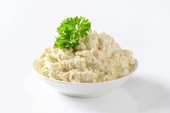 Horseradish sauce Stock Image