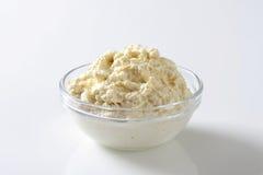 Horseradish sauce Stock Photo