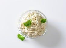 Horseradish sauce Royalty Free Stock Image