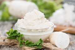 Horseradish Sauce Stock Images