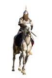 Horserider isolou-se Imagens de Stock Royalty Free