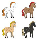 Horses. Images of horses. Vector format vector illustration