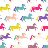 Horses Seamless Stock Image