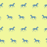Horses seamless pattern Royalty Free Stock Images