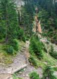 Horses Waterfall the tallest waterfall in Romania Royalty Free Stock Photos
