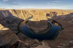 Horseshoe загиб, каньоны антилопы стоковое изображение rf