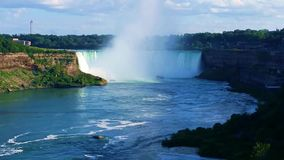 Horseshoe падения, Ниагарский Водопад, Онтарио, Канада видеоматериал