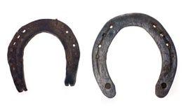 horseshoe старое ржавое Стоковое Фото