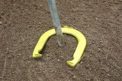 Horseshoe 1. Ringer of a horseshoe stock photos
