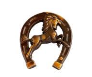 Horseshoe. On a white background Royalty Free Stock Photo