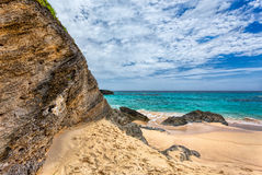 Horseshoe Bay Beach in Bermuda Stock Photography