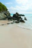 Horseshoe Bay Beach in Bermuda Stock Photo