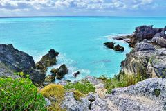 Horseshoe Bay beach in Bermuda. Horseshoe Bay beach in Southampton, Bermuda Stock Image
