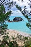 Horseshoe Bay beach in Bermuda Royalty Free Stock Image