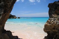 Horseshoe Bay Bermuda Stock Image