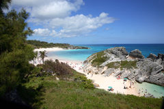 Horseshoe Bay, Bermuda Stock Images