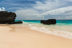 Horseshoe Bay Bermuda. Horseshoe Bay is perhaps the most famous beach in Bermuda. It has been rated the  8 beach in the world by TripAdvisor. A very popular Stock Image