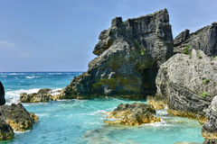 Horseshoe Bay Cove - Bermuda Stock Image
