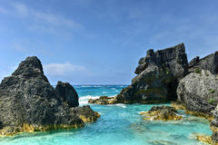 Horseshoe Bay Cove - Bermuda Stock Photos