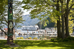 Horseshoe Bay, harbor, British Columbia, Canada Royalty Free Stock Images