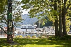 Horseshoe Bay, harbor, British Columbia, Canada Royalty Free Stock Images