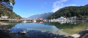 Horseshoe Bay Harbour, British Columbia Royalty Free Stock Photo