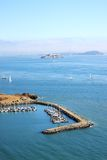 Horseshoe Bay, San Francisco, Usa. A Panoramic view of San Francisco bay, USA Stock Photos