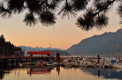 Horseshoe Bay Sunset Royalty Free Stock Photography